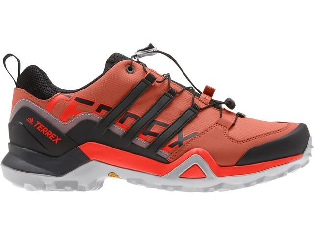 adidas TERREX Swift R2 Zapatillas Senderismo Hombre, glory amber/core black/solar red